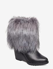 Sorel - PARK CITY SHORT - warm lined boots - black - 0