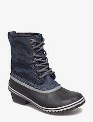Sorel - SLIMPACK 1964 - flat ankle boots - collegiate navy, black - 0
