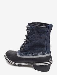 Sorel - SLIMPACK 1964 - flat ankle boots - collegiate navy, black - 2
