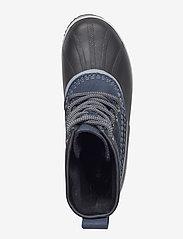 Sorel - SLIMPACK 1964 - flat ankle boots - collegiate navy, black - 3