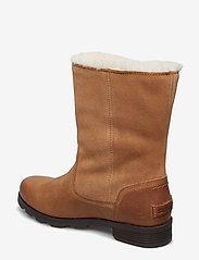 Sorel - EMELIE FOLDOVER - flat ankle boots - camel, brown - 2