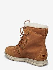 Sorel - SOREL™ EXPLORER JOAN - flat ankle boots - camel brown, ancient fossil - 2