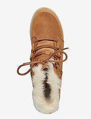 Sorel - SOREL™ EXPLORER JOAN - flat ankle boots - camel brown, ancient fossil - 3