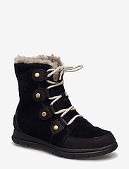 Sorel - SOREL™ EXPLORER JOAN - flat ankle boots - black, dark stone - 0