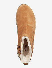Sorel - KINETIC SHORT - platta ankelboots - camel brown - 3