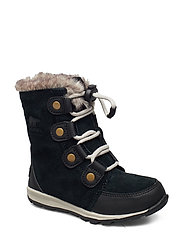 YOUTH WHITNEY  SUEDE - BLACK, DARK STONE