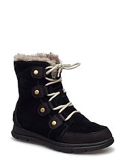 SOREL™ EXPLORER JOAN - BLACK, DARK STONE