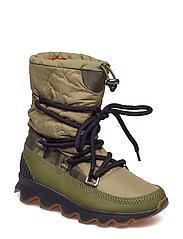 Kinetic Boot - HIKER GREEN, BLACK