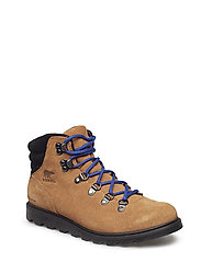 Youth Madson Hiker Waterproof - CAMEL BROWN, BLACK