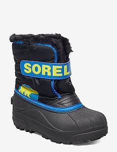 Children's Snow Commander - winter boots - black, super black