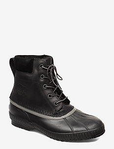 Cheyanne II - laced boots - black
