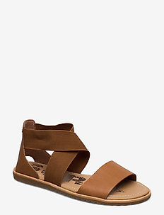 ELLA™ SANDAL - camel brown