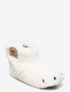 CHILDRENS SOREL™ BEAR PAW SLIPPER - SEA SALT, BEACH