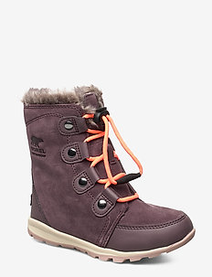 YOUTH WHITNEY  SUEDE - bottes d'hiver - purple sage