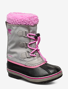 YOOT PAC NYLON - bottes d'hiver - chrome grey, orchid