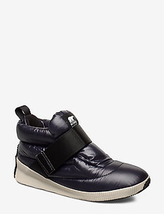 OUT´N ABOUT PUFFY - sneakers med høy ankel - black