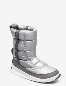 OUT N ABOUT™ PUFFY MID - METAL-PURE SILVER