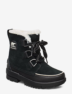 TORINO II WP - flat ankle boots - black