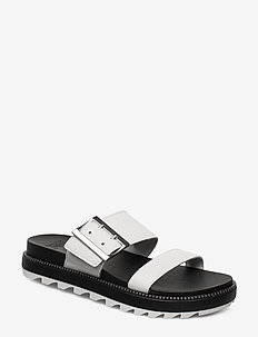 ROAMING™ BUCKLE SLIDE - sea salt