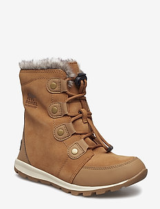 YOUTH WHITNEY  SUEDE - ELK, NATURAL