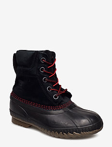 YOUTH CHEYANNE II - BLACK, MOUNTAIN RED