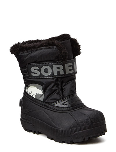 Childrens Snow Commander - BLACK, CHARCOAL