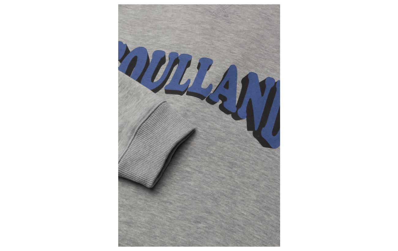 Print Aw18 Sweat Hockney W Soulland Grey Logo ZqHaScx