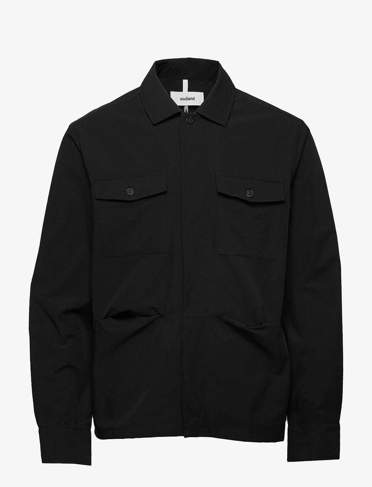 Soulland - Tag - overshirts - black - 0