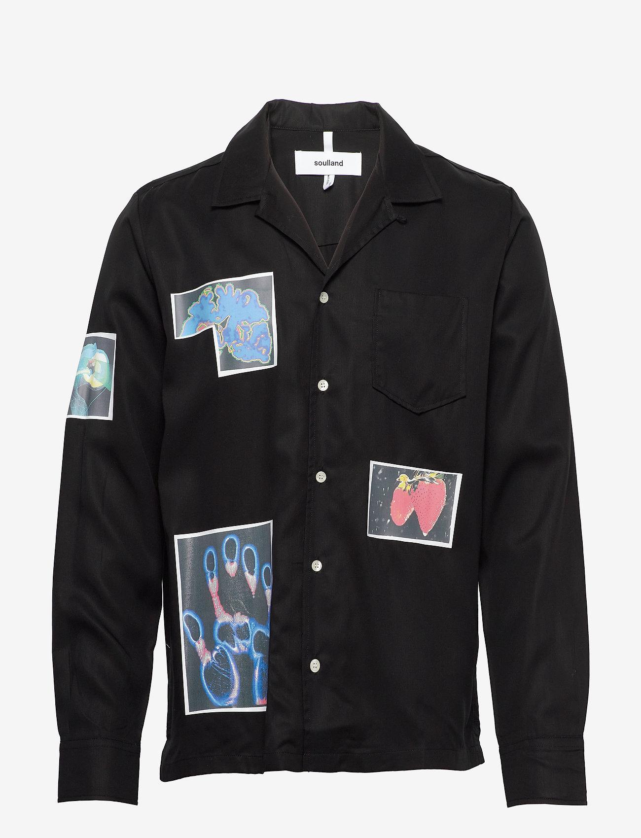 Soulland - Joe - overshirts - black - 0