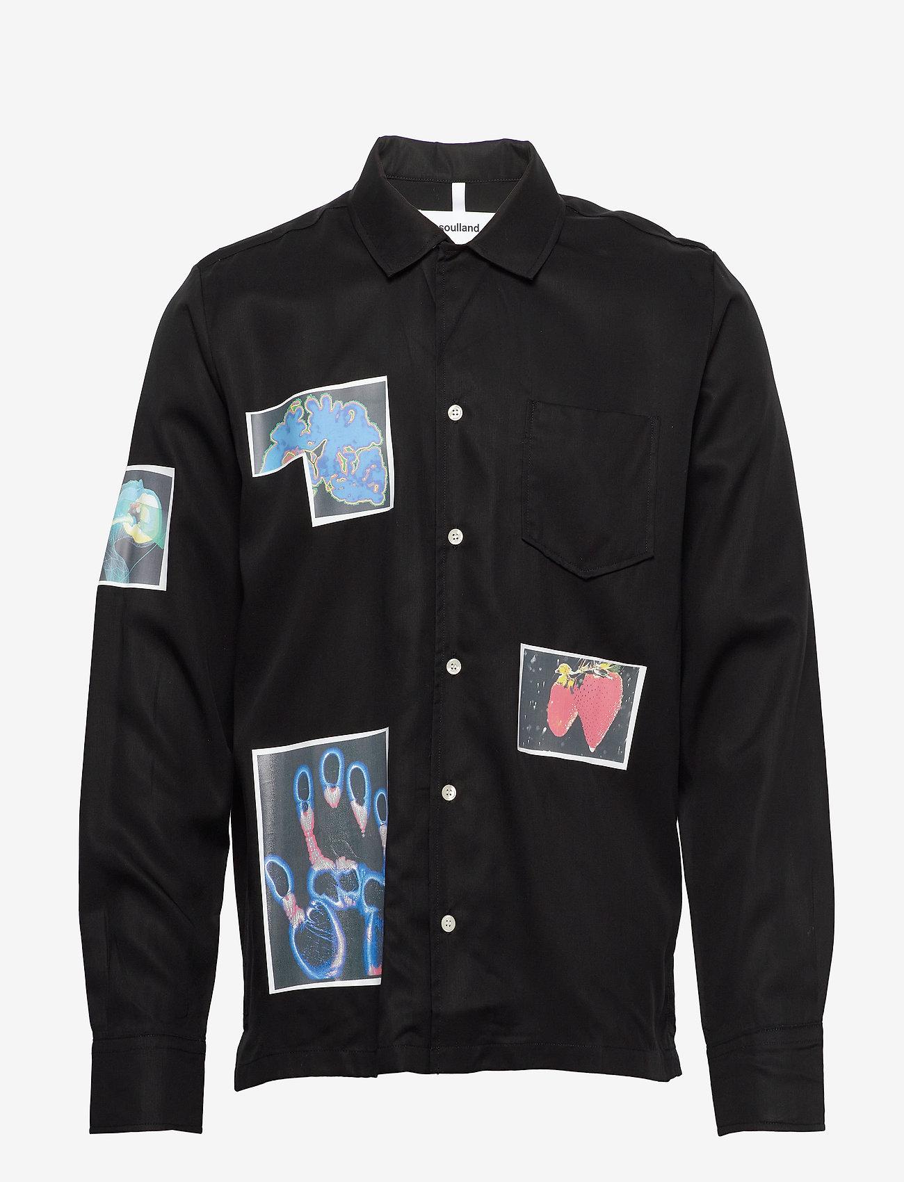 Soulland - Joe - overshirts - black - 1