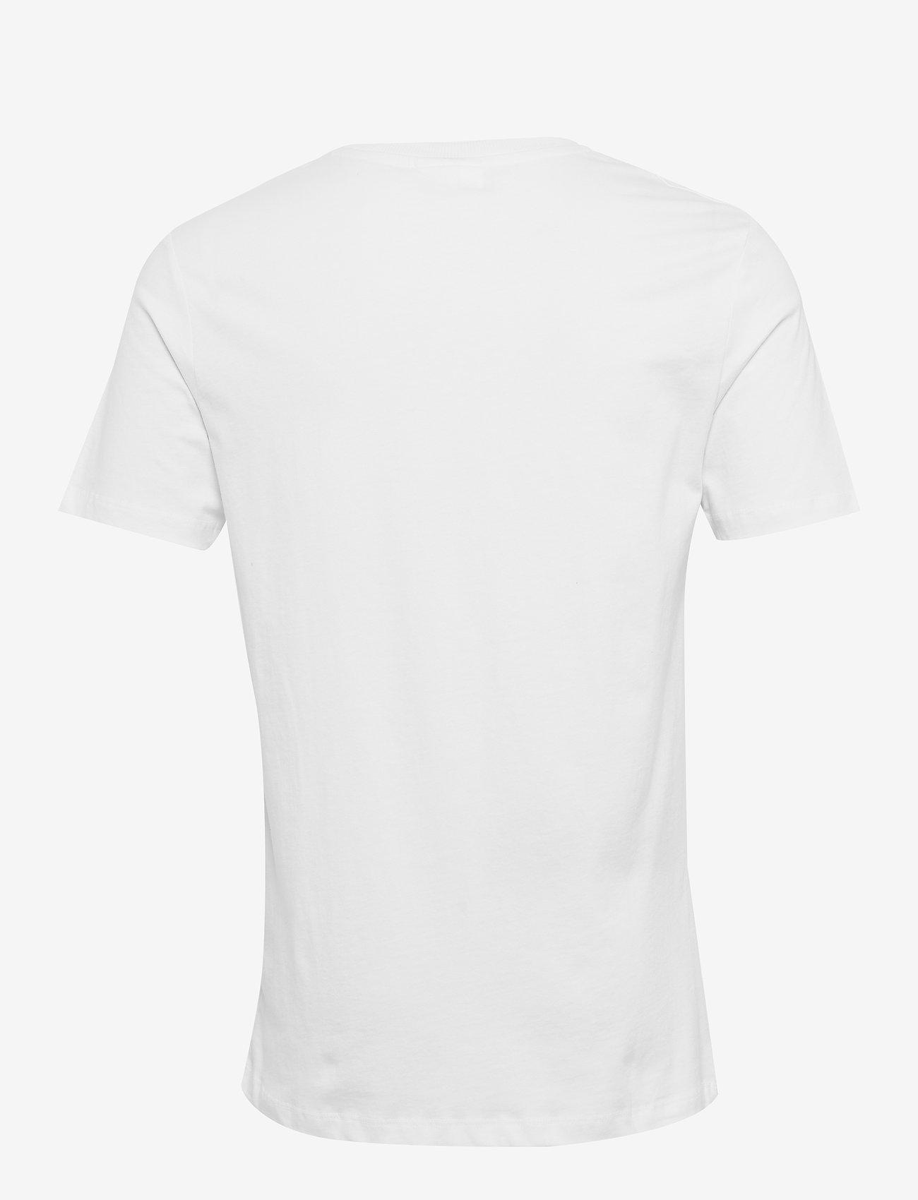Soulland LOGIC DRUX T-SHIRT W.PRINT - T-skjorter WHITE - Menn Klær