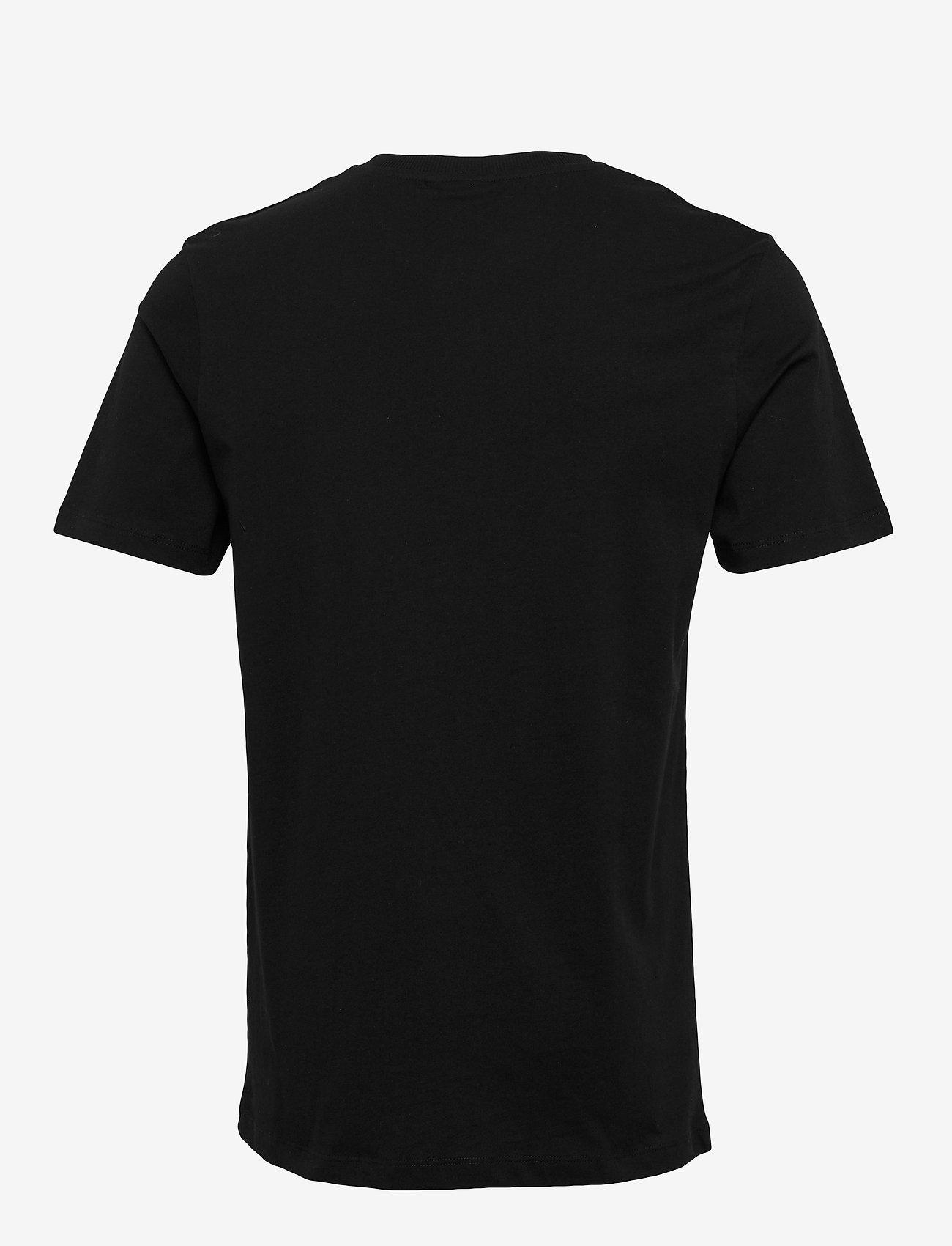Soulland - LOGIC SALEH T-SHIRT W. PRINT - t-shirts - black