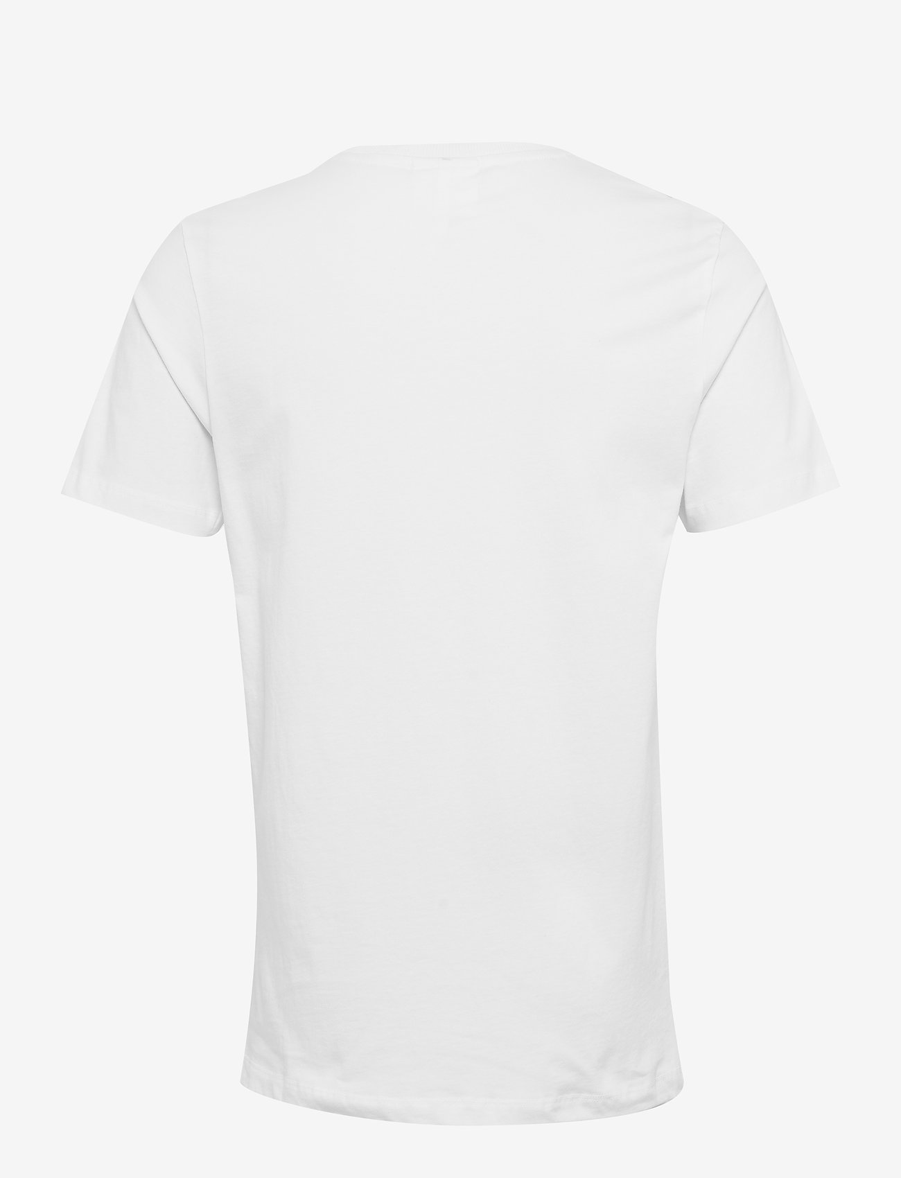 Logic Saleh T-shirt W. Print (White) - Soulland WrEjUI