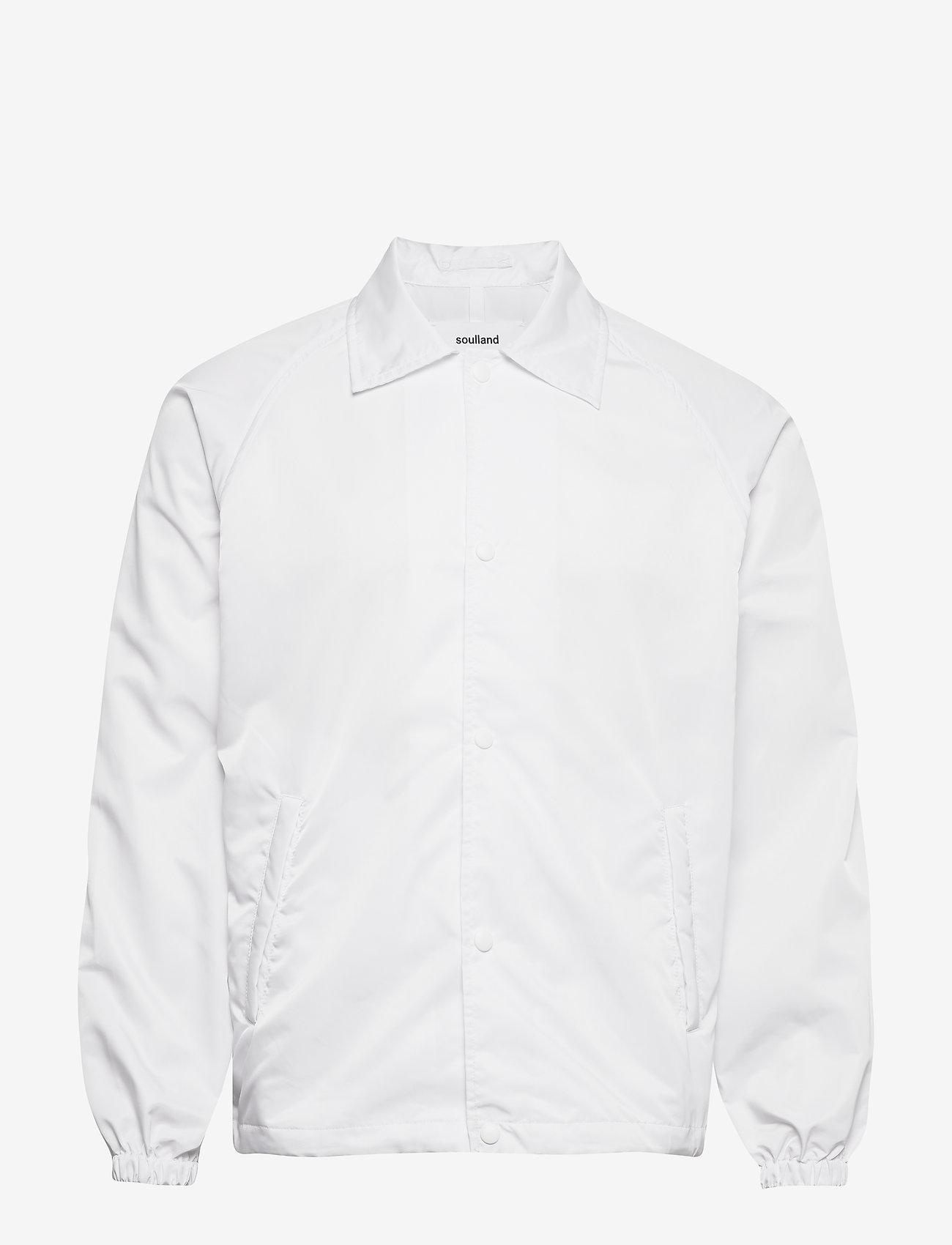 Soulland - Strugat jacket - bomberjackor - white - 0