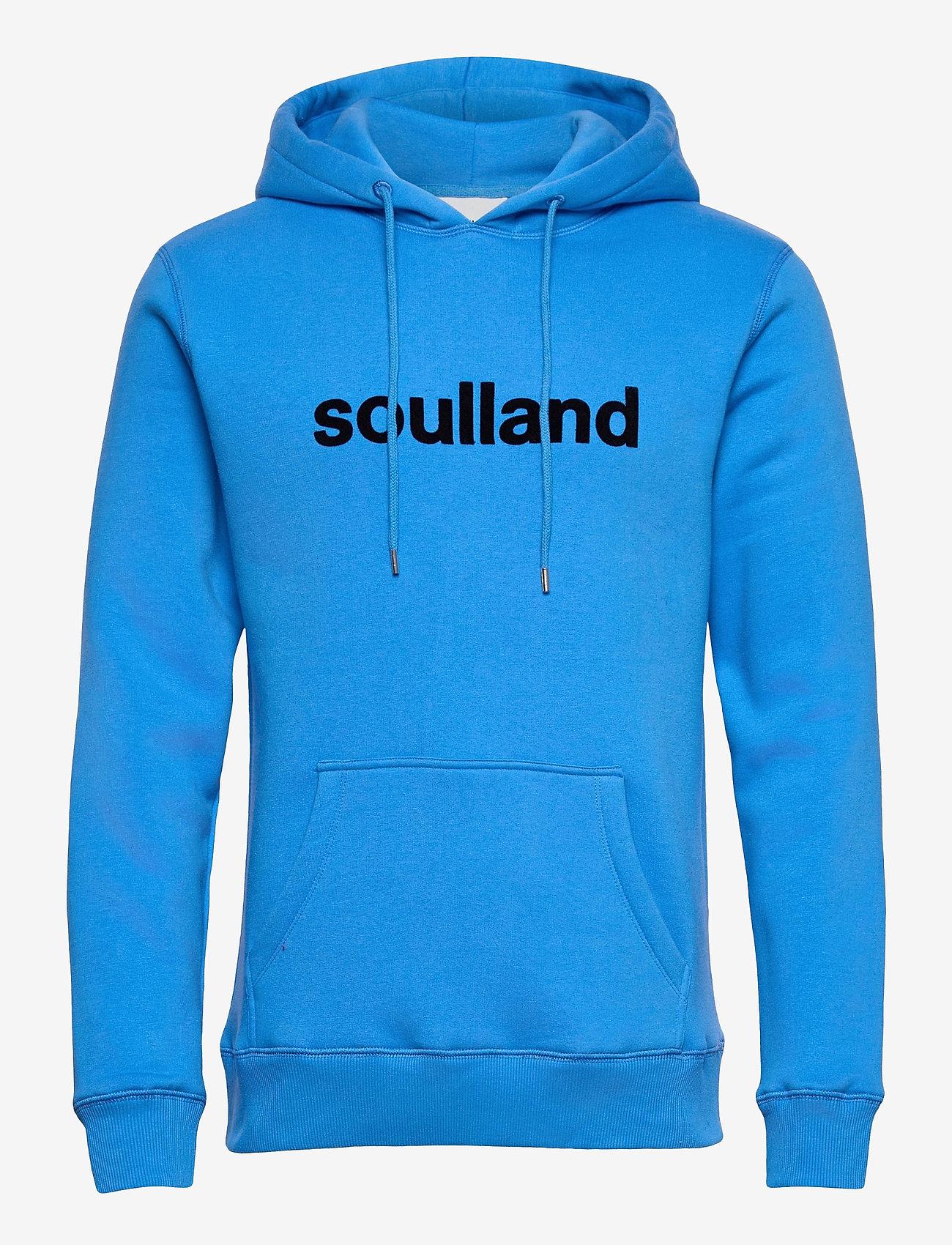 Soulland - Googie hoodie - hoodies - light blue - 1