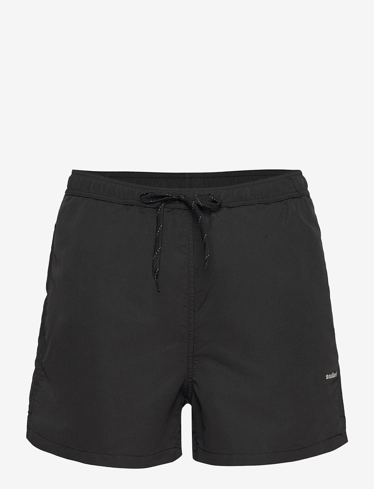 Soulland - William shorts - shorts de bain - black - 1