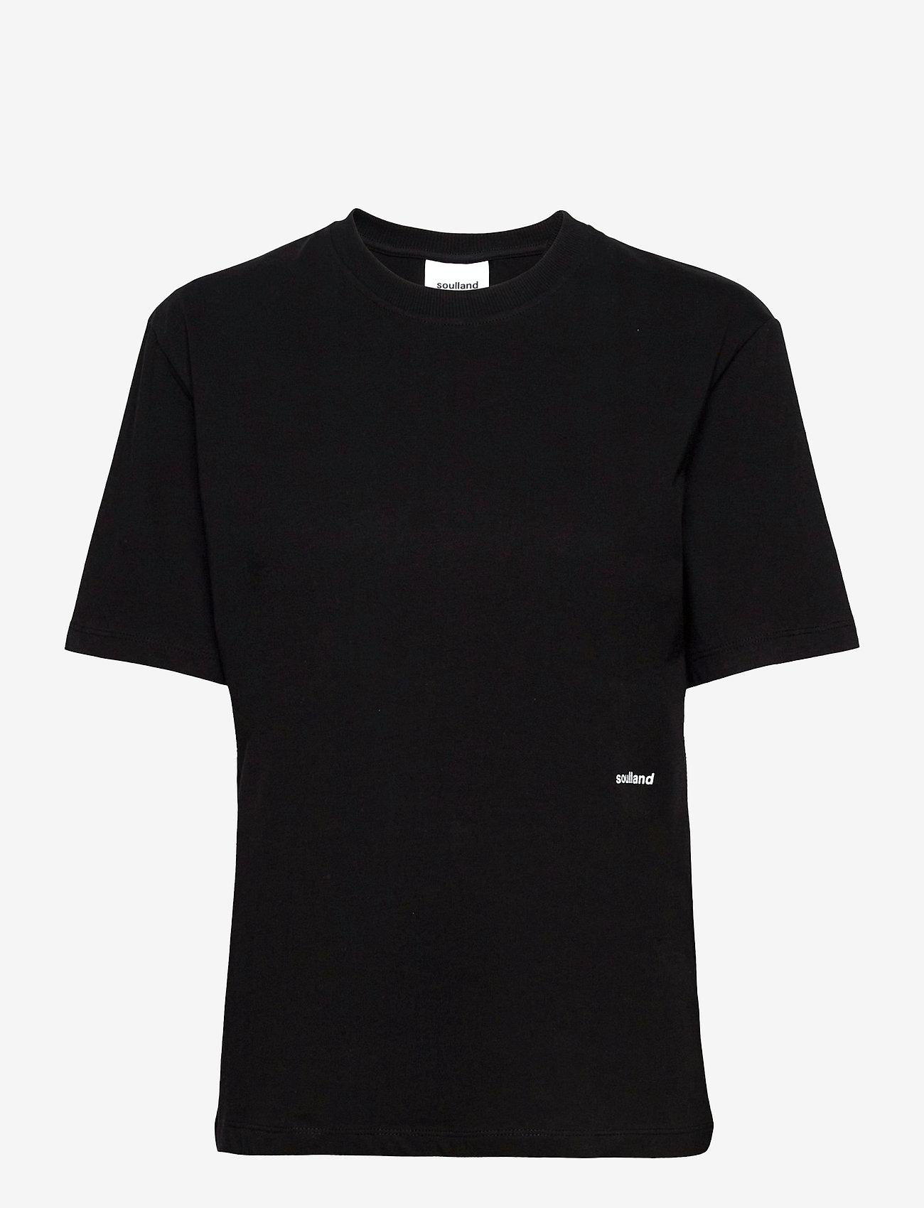 Soulland - Cea T-shirt - t-shirts - black - 0