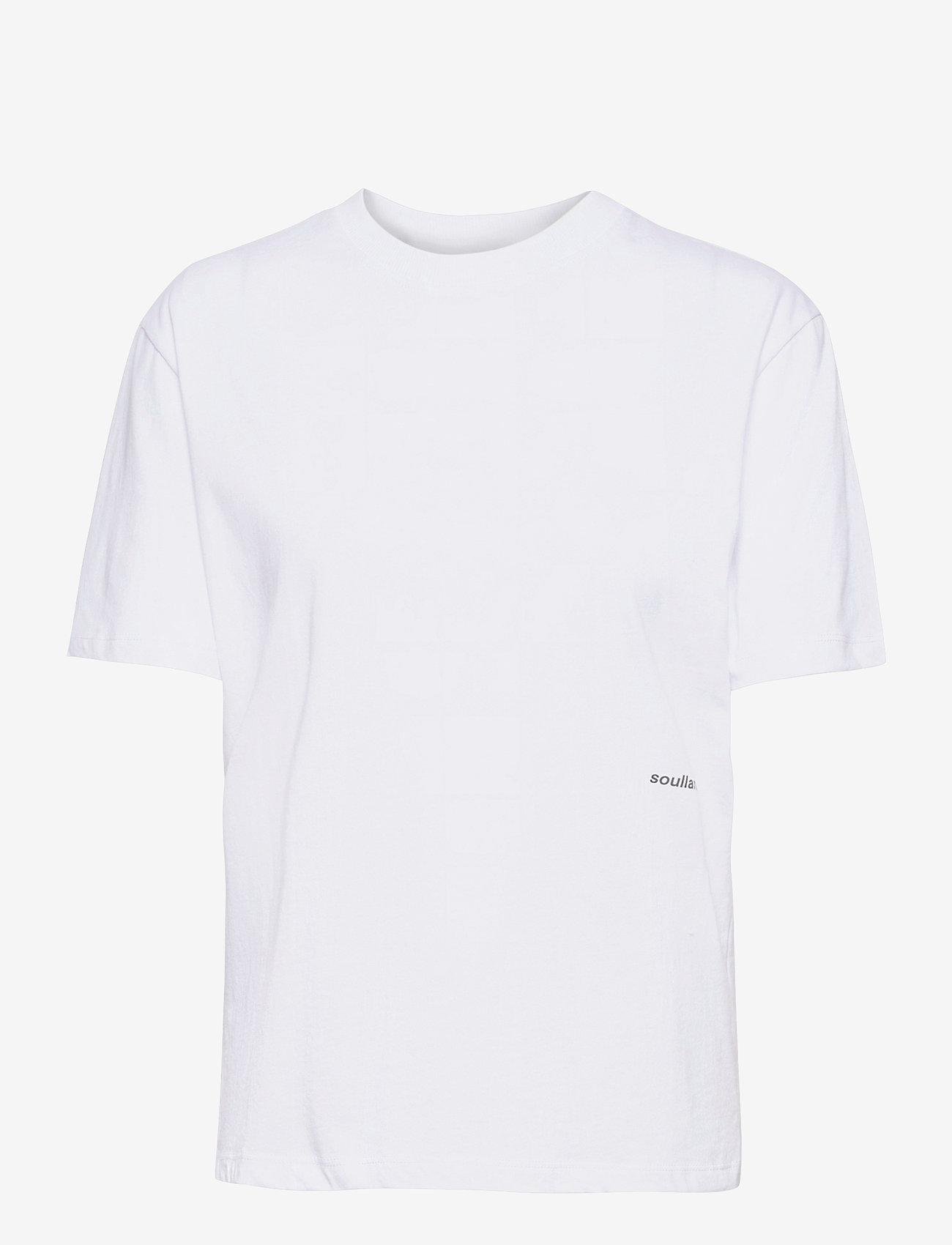 Soulland - Cea T-shirt - t-shirts - white - 0