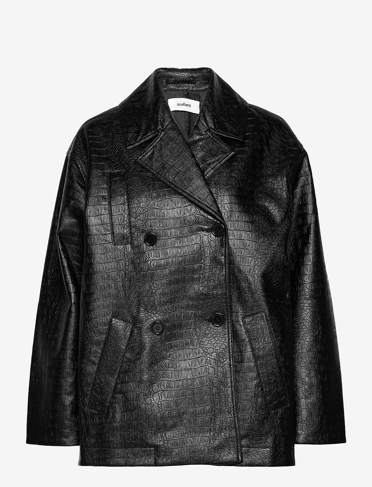 Soulland - Lena jacket - skinnjackor - black - 0