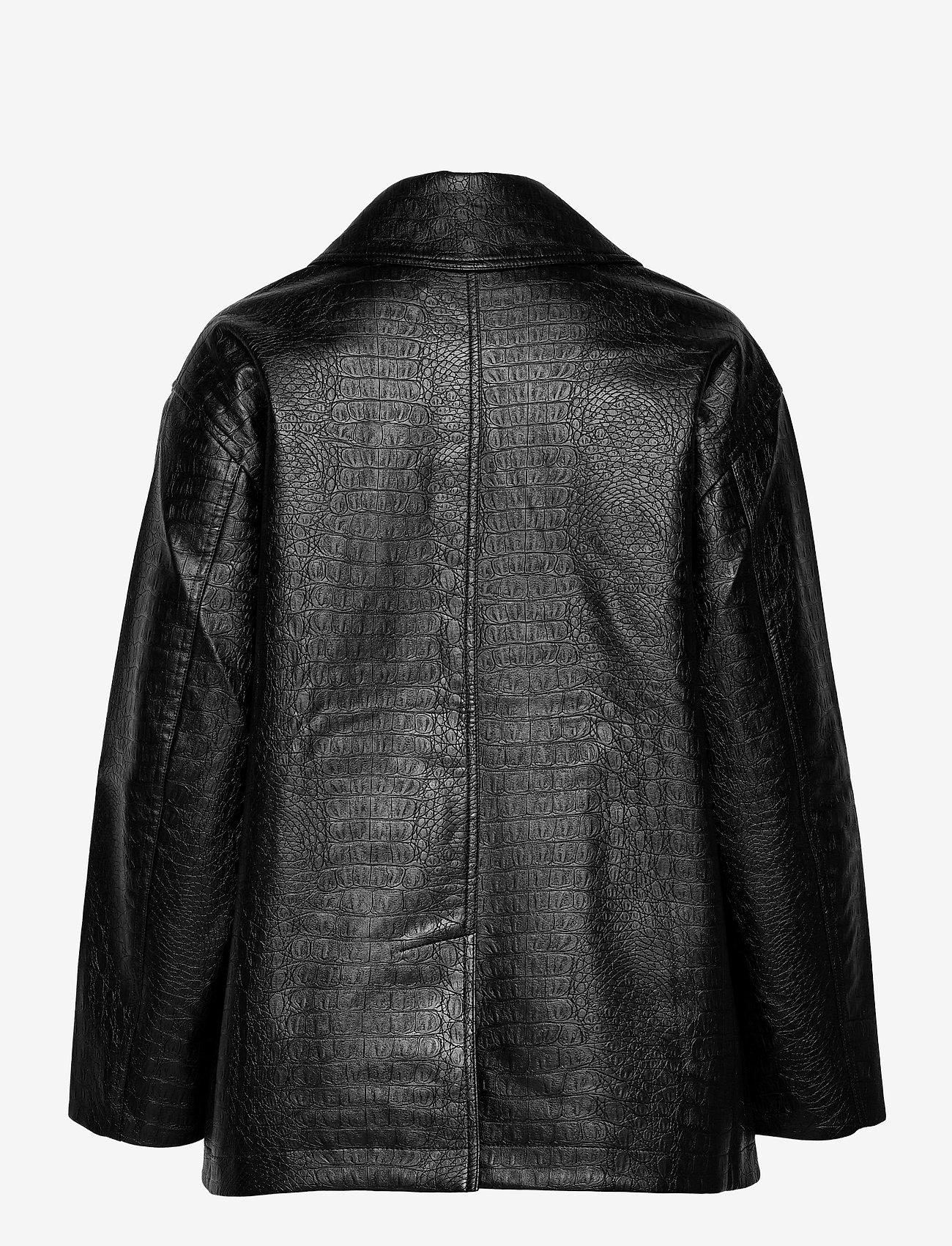 Soulland - Lena jacket - skinnjackor - black - 1