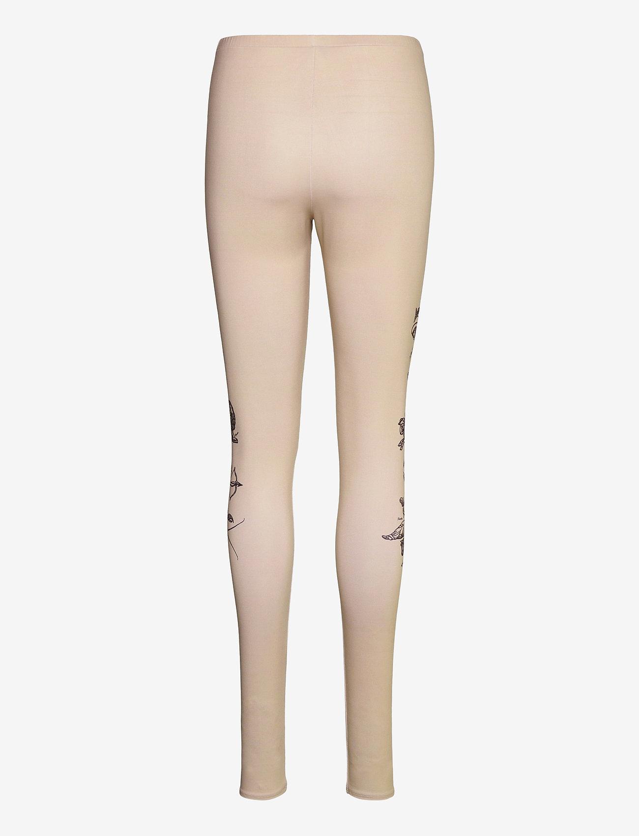 Soulland - Ying leggings - leggings - beige - 2
