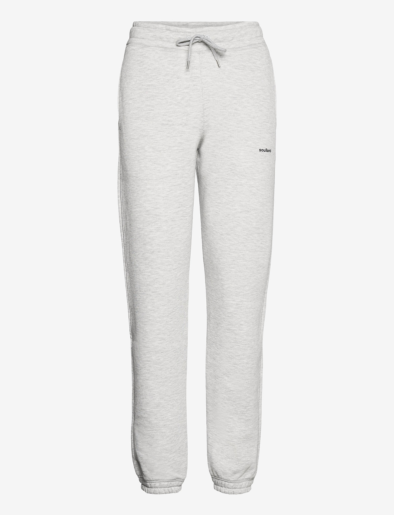 Soulland - Eisa pants - kleidung - grey melange - 0