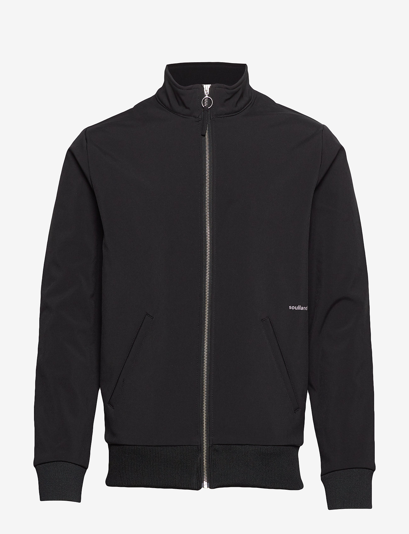 Soulland - BIBI TRACK SUIT JACKET - coupe-vent - black