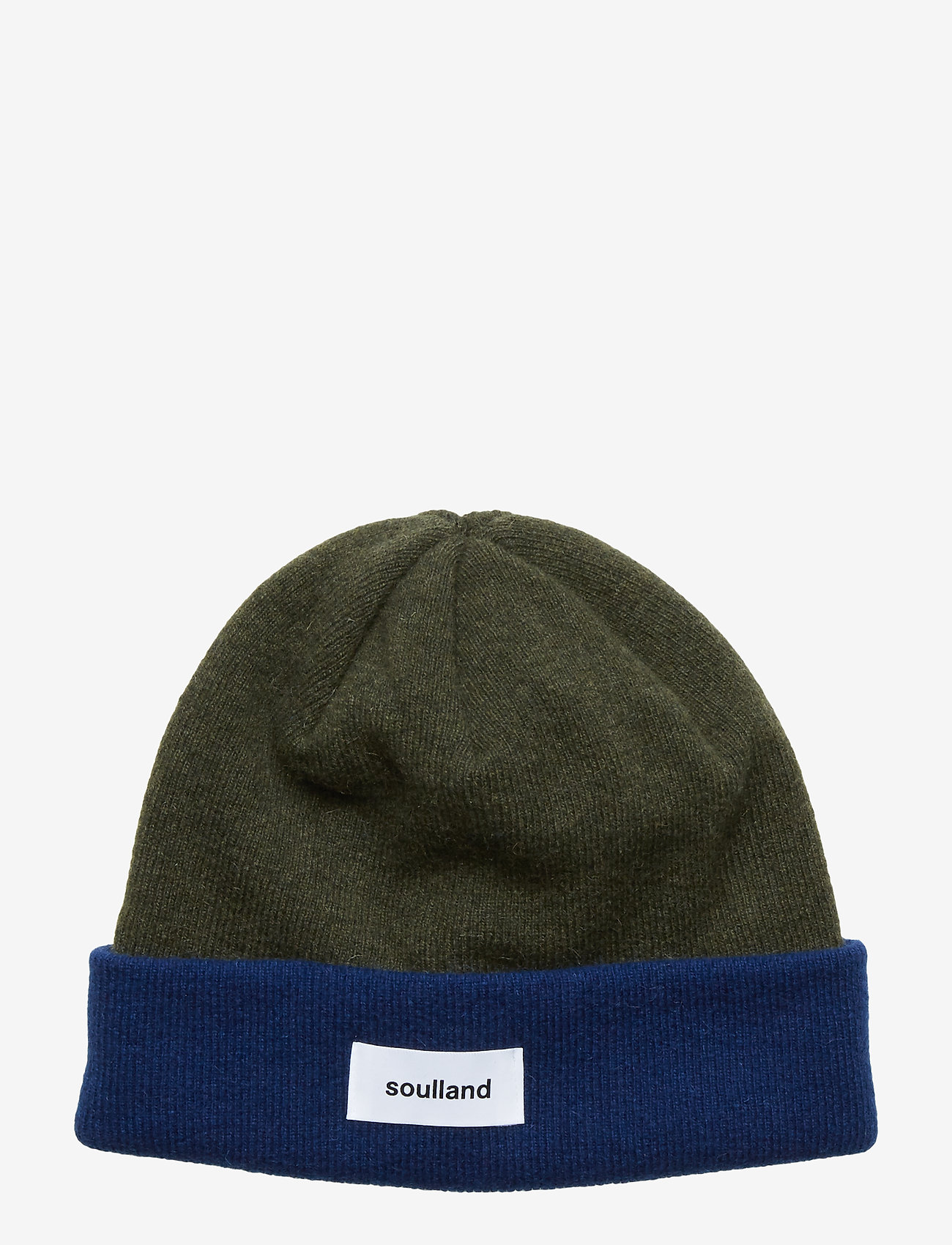 Soulland - VILLY BEANIE - bonnet - green/navy