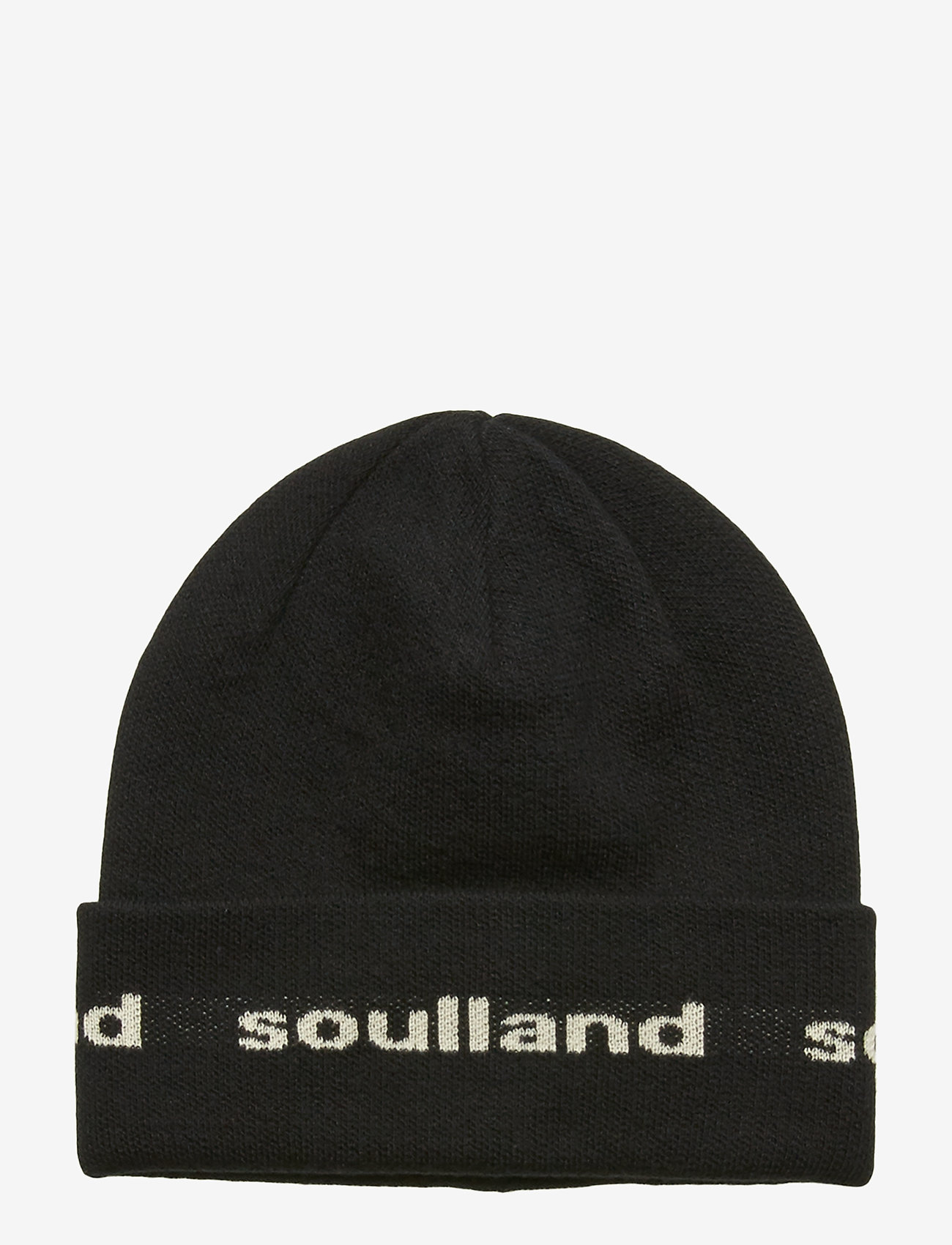 Soulland - YOUNGBANG RECYCLE BEANIE - pipot - black - 0