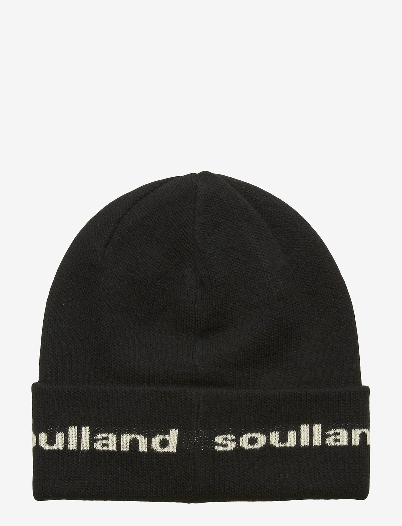 Soulland - YOUNGBANG RECYCLE BEANIE - czapka - black - 1