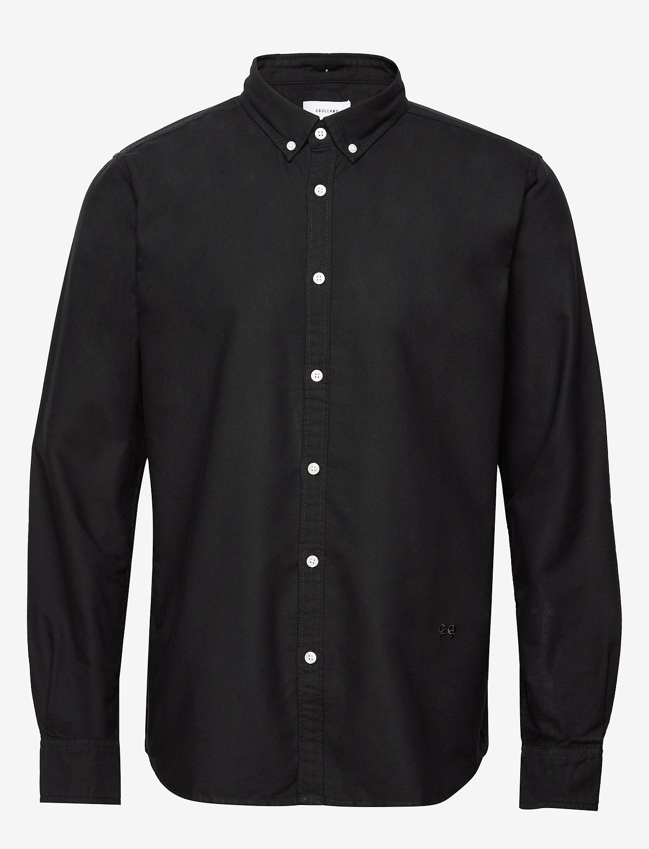 Soulland - GOLDSMITH - business shirts - black - 0