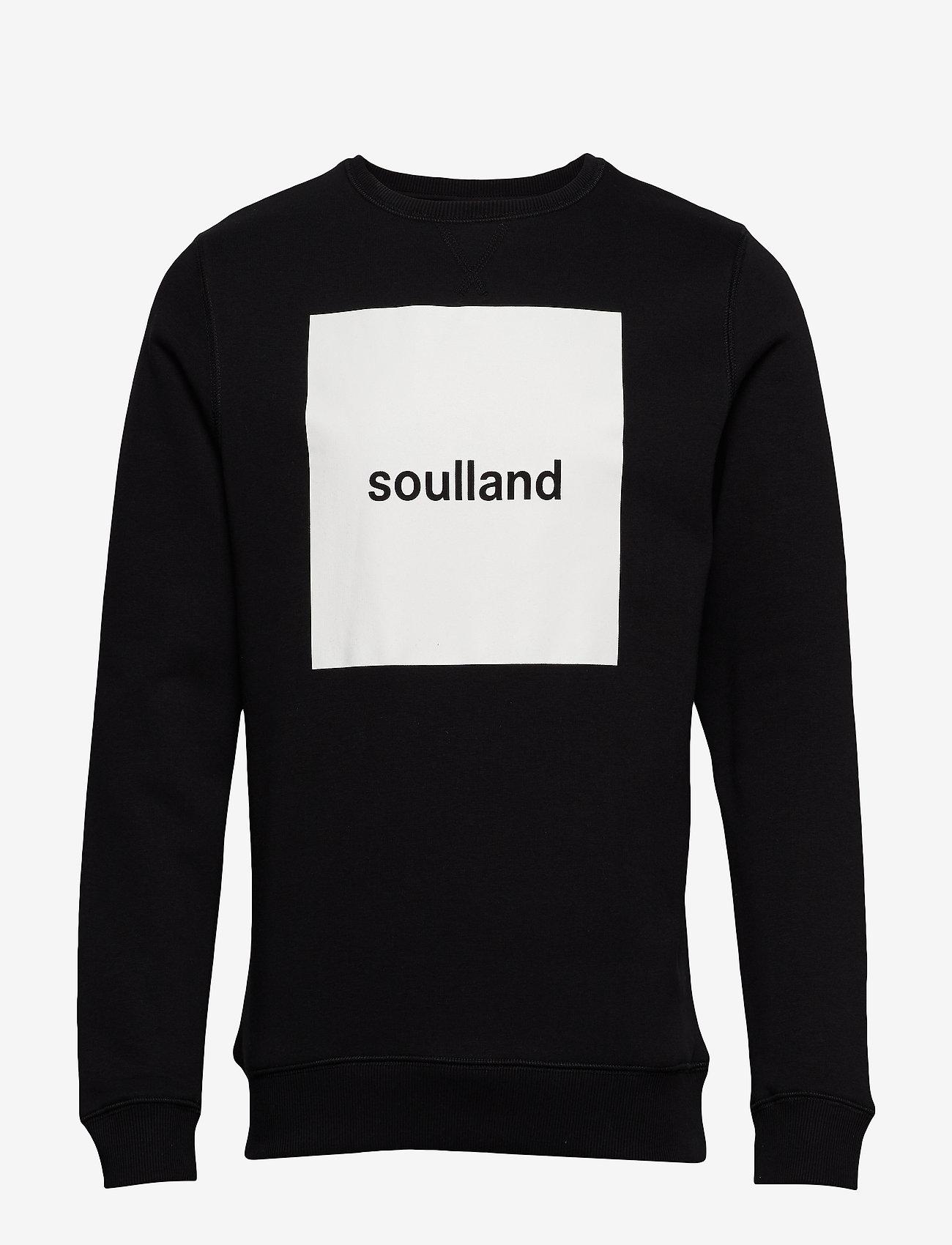 Soulland - ETHAN - sweatshirts - black
