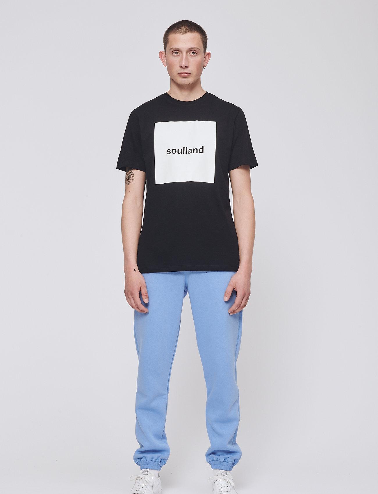 Soulland - MASON - t-shirts - black