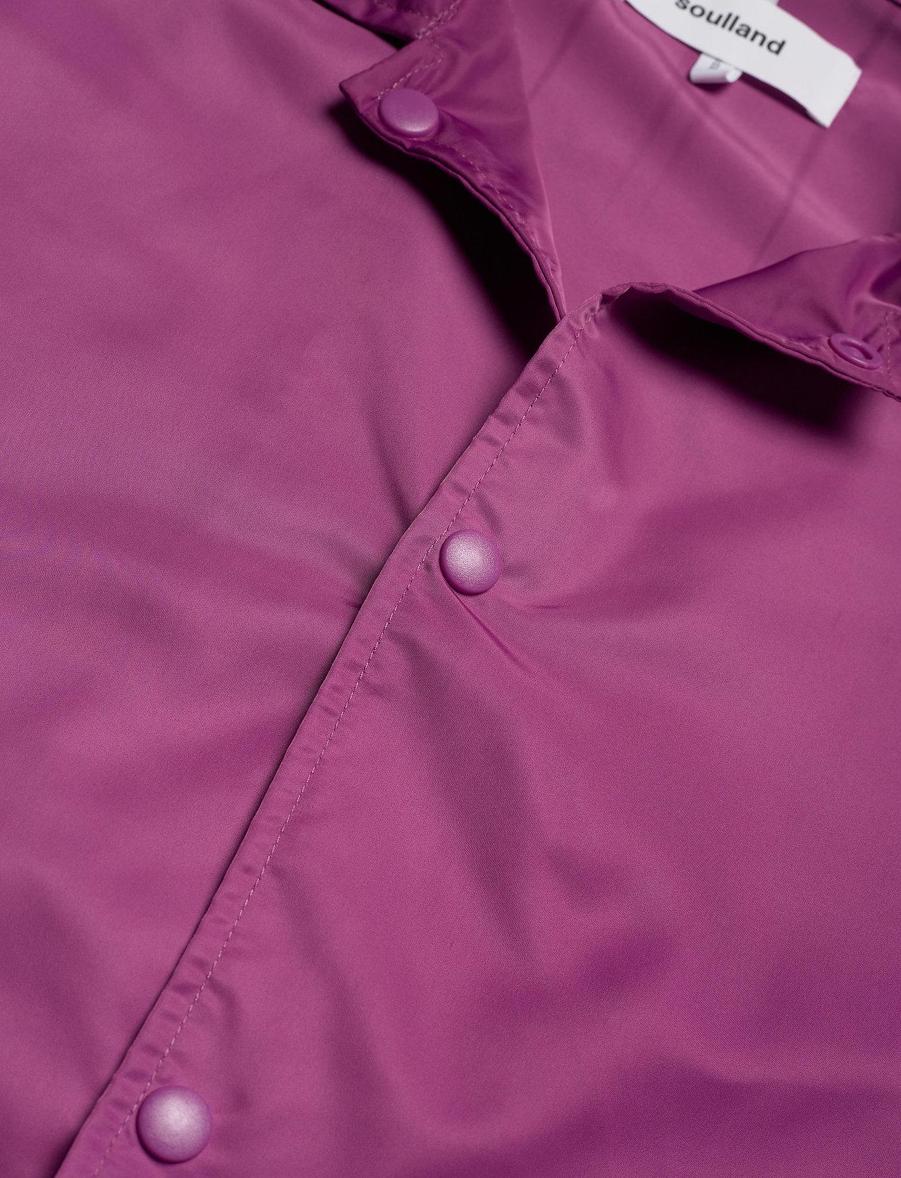 Soulland - Strugat jacket - bomberjackor - purple - 1